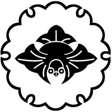 雪輪に脹雀紋