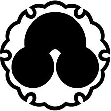 雪輪に洲浜紋