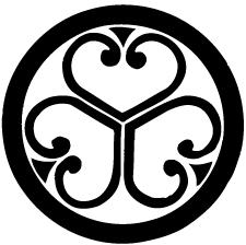 丸に中陰三つ葵紋2