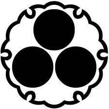 雪輪に三つ星紋