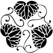 変わり三つ蔓葵紋
