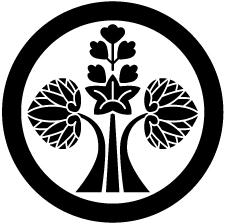 丸に変わり花立ち葵紋