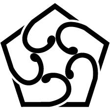 中陰五つ捻じ葵紋2