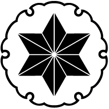 雪輪に麻の葉紋