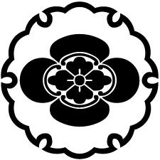 雪輪に木瓜紋