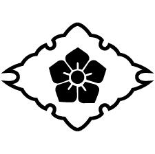 雪輪菱に桔梗紋