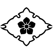 雪輪菱に桔梗紋2