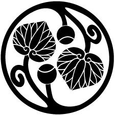 変わり実付き二つ蔓葵の丸紋