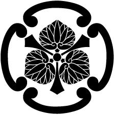 四つ鐶剣三つ葵紋