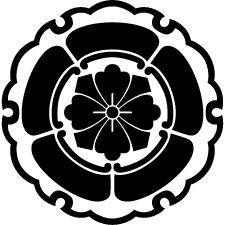 雪輪に五瓜に四方剣花菱紋