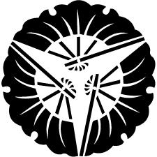 三つ扇銀杏紋