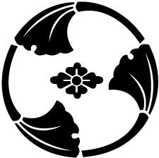 三つ割り銀杏に花菱紋