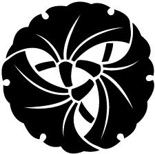 三つ組み銀杏紋
