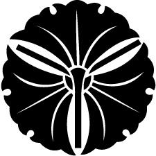 三つ軸違い銀杏紋