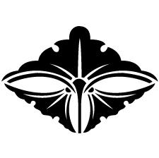 三つ銀杏菱紋