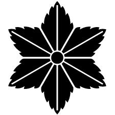 向こう真麻の葉紋