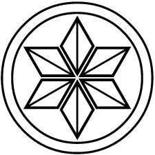 総陰丸に麻の葉紋