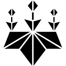 麻の葉桐紋