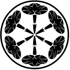 細輪に六つ朝顔紋1
