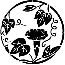竹丸に朝顔紋