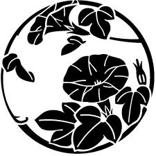 蔓丸に朝顔紋2