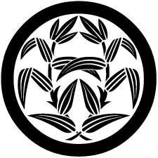 丸に抱き葦紋