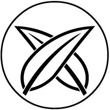 糸輪に違い葦の葉紋2