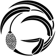 一つ粟の丸紋2