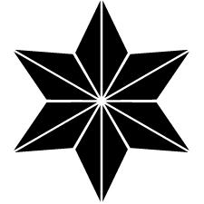痩麻の葉紋