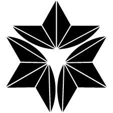 外三つ割り麻の葉紋