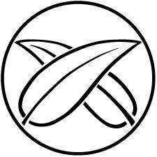 糸輪に違い葦の葉紋