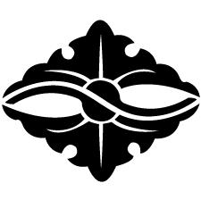 向かい銀杏菱紋