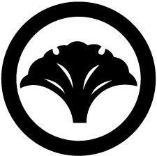 丸に変わり一つ銀杏紋