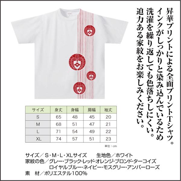 家紋ドライTシャツTKW02s