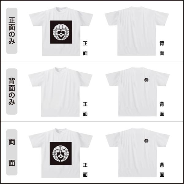 家紋ドライTシャツNFW042s